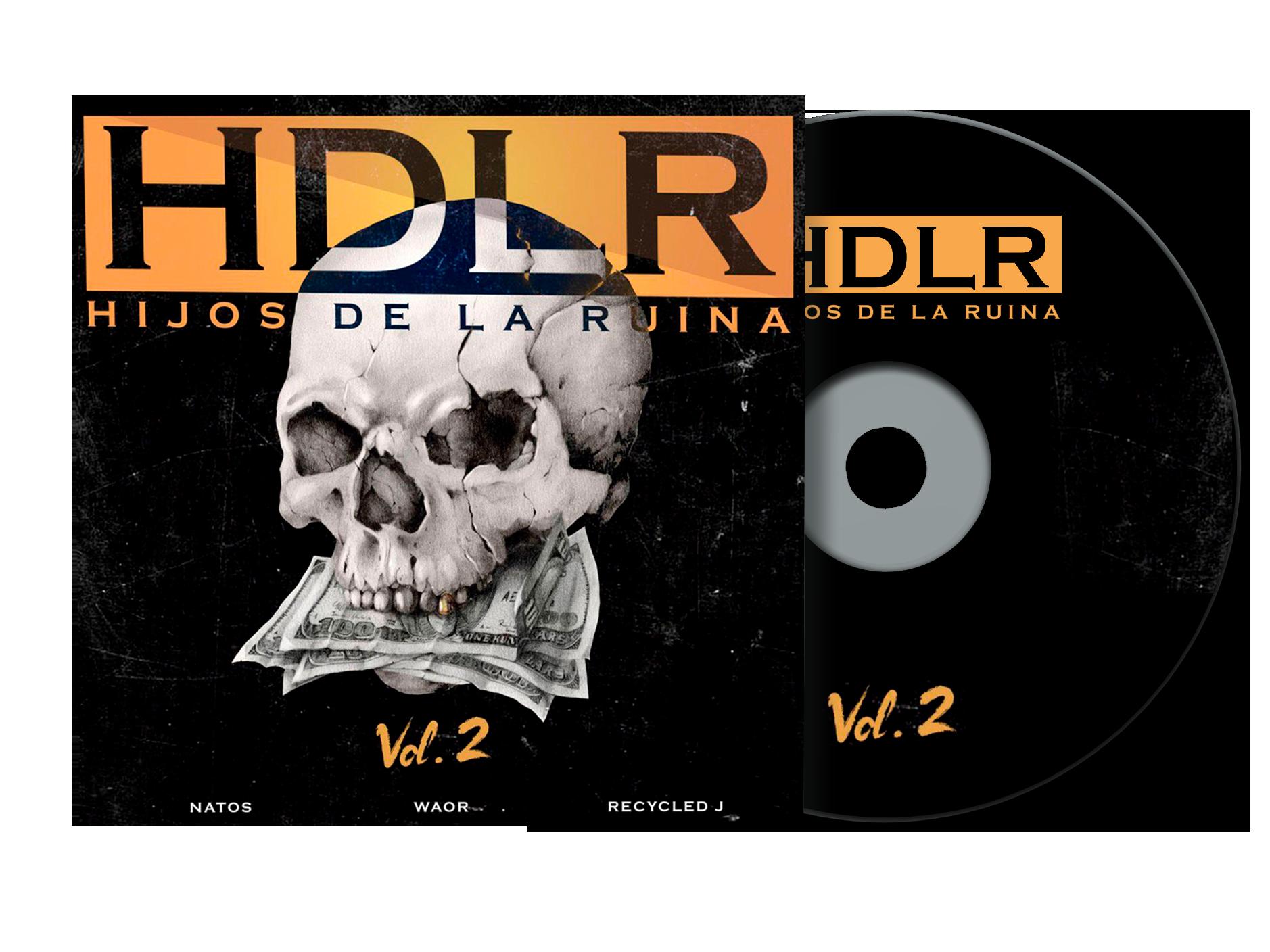 Disco HDLR Natos y Waor